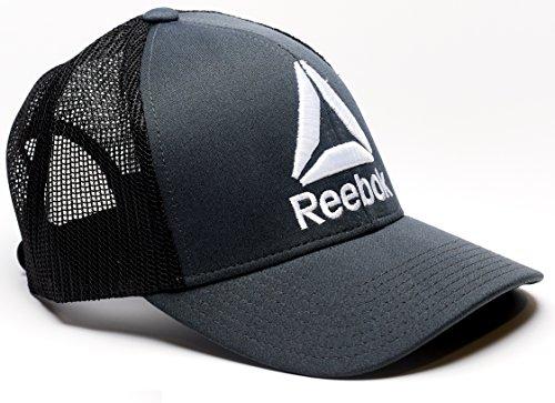 Delta Logo Meshback Snapback Trucker (Reebok Baseball Hat)