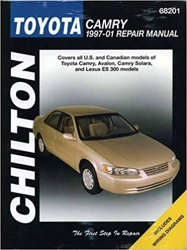 Toyota Camry Chilton S 1997 2001 Repair Manual Chilton 9781563924675 Amazon Com Books