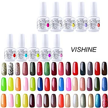 kit pour vernis a ongles gel semi-permanent