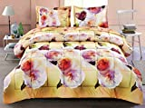 2 Piece Box Stitched 3D Butterfly & Camellia Flower Prints Faux Fur Comforter Set (D011) King,queen,twin (Twin)