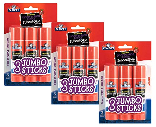 Elmers Disappearing Purple School Sticks product image