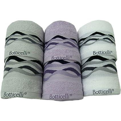 Botticelli viso 3 3 toallas tipo hammam esponja 100 quirúrgica Onda A G290 cot