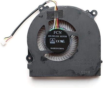 Laptop Fan for Shenzhou Ares Z7-KP7G1 Z7-KP7GS Z7-KP7SC Fan CN85S02 Fan 4-Wire