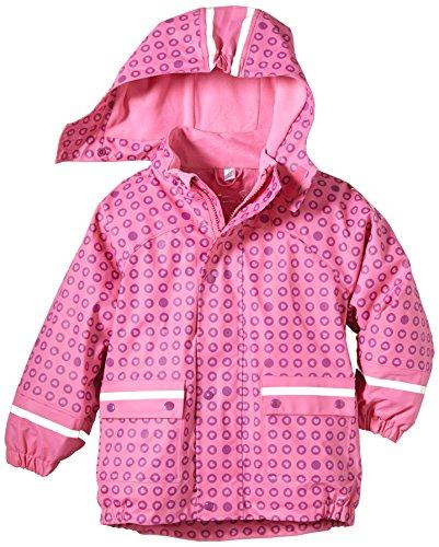 Sterntaler Mädchen Regenmantel Regenjacke gefüttert, Einfarbig, Gr. 116, Rosa (hortensie 744)