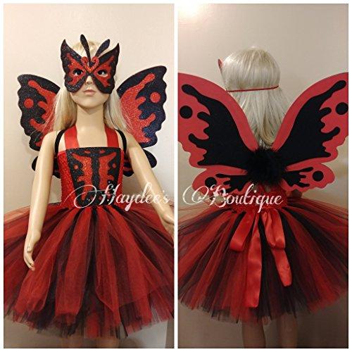 Moth Girl Tutu Dress Set by Haydee's Boutique