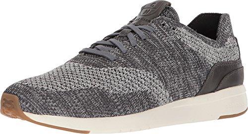Cole Haan Men's Grandpro Runner Stitchlite Sneaker, Grey Heathered/Tan, 11 M US