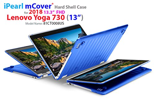 mCover Hard Shell Case for New 2018 13.3 Lenovo Yoga 730 (13) Laptop (NOT Compatible with Yoga 710/720 / 910/920 Series) (Yoga 730 Blue)