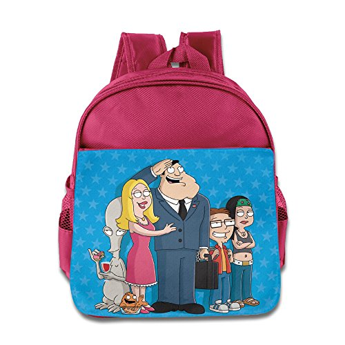 Price comparison product image American Dad The Smith Family Toddler School Backpack Pink