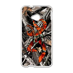 Browning Camo Deer Hunter Cell Phone Case for HTC One M7