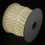 Novelty Lights, Inc. RL-LED-SP Rope Light Spool, Warm White, 150', Custom Cuttable, 1/2'' Diameter, 120 Volt, Includes 5 Free Connector Kits