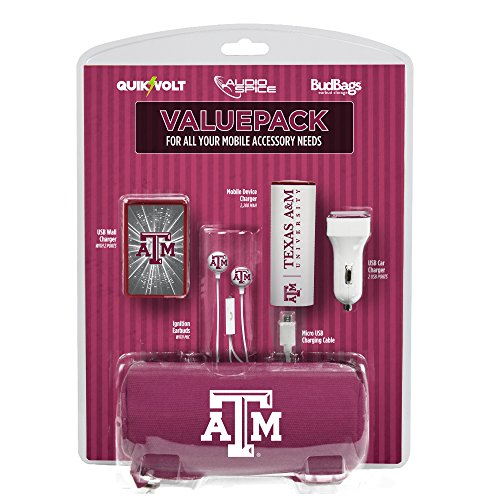 Texas A&M Aggies Mobile Accessory Value Pack from QuikVolt