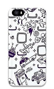 iPhone 5 5S Case Doodles 3D Custom iPhone 5 5S Case Cover