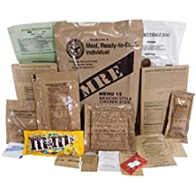 Genuine Military MRE Meal with Inspection Date September 2017 or Newer (Vege Taco Crumbles)