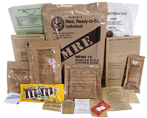 Genuine Military MRE Meal with Inspection Date September 2017 or Newer (Chili Macaroni) (Chili Macaroni Mre compare prices)