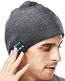 Tools & Hardware : XIKEZAN Unisex Bluetooth Beanie Smart Winter Knit Hat V4.1 Wireless Musical Headphones Earphones w/ 2 Speakers Beanies Hats Cap Unique Christmas Tech Gifts for Teen Young Boys Girls Men Women