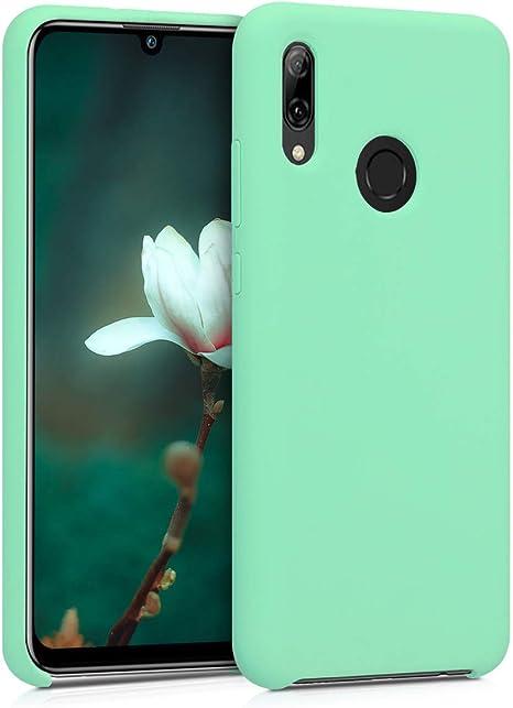 kwmobile Cover per Huawei P Smart (2019) - Cover Custodia in Silicone TPU - Back Case Protezione Cellulare Verde Menta