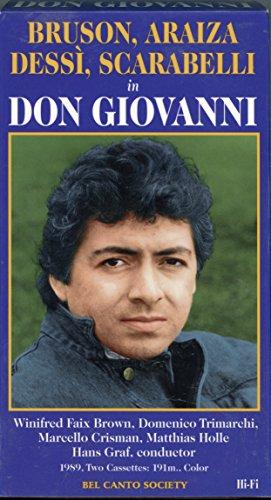 Don Giovanni – Complete Opera [VHS]