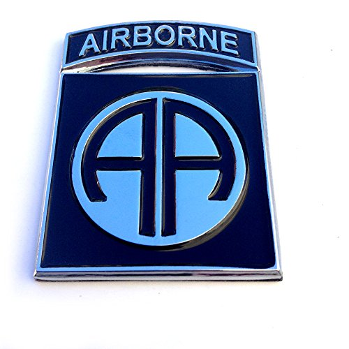 82nd Airborne Division Subdued Sticker Decal Emblem Badge for Car Truck Auto US Army