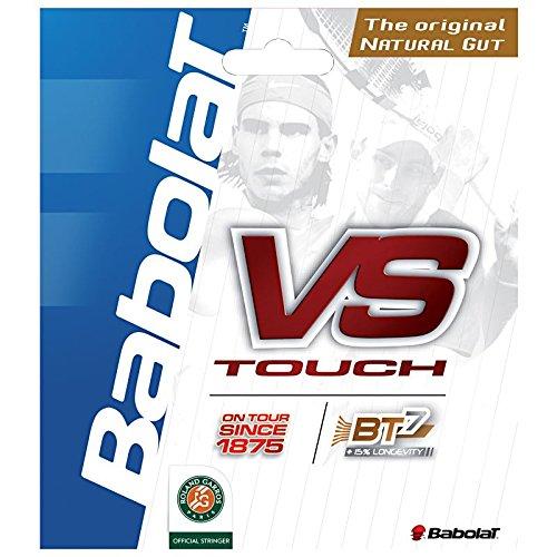 - Babolat VS Touch Tennis String (16 Black)
