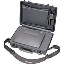 "Pelican 1490 CC2 Black Laptop Case Deluxe with Foam 14"" x 19.88"" x 4.63"""