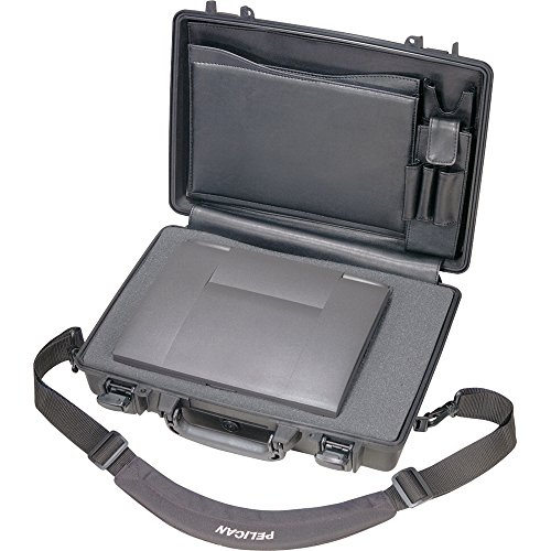 Pelican 1490 CC2 Black Laptop Case Deluxe with Foam 14