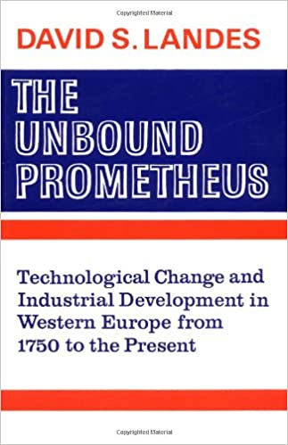 image for The Unbound Prometheus: Technical Change and Industrial Development in Western Europe from 1750 to Present