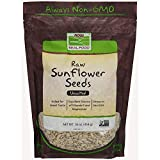 NOW Foods, Sunflower Seeds, Raw & Unsalted, 1-Pound