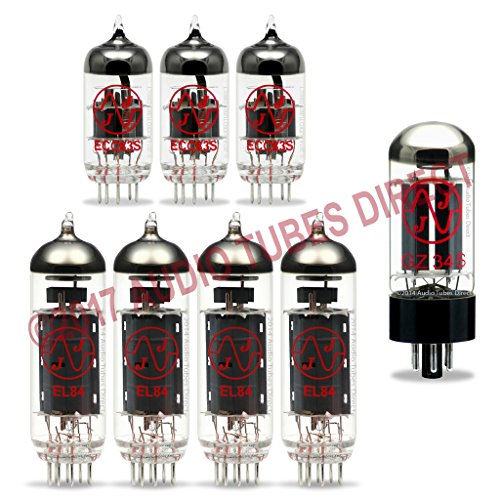 JJ Tube Upgrade Kit For VOX AC30HW2, AC30HWH, AC30HW2X Amps EL84 ECC83S GZ34 by JJ Electronic