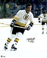 "Ken Hodge Boston Bruins Autographed 16"" x 20"" White Vertical Photograph with 70-72 SC Champs Inscription - Fanatics Authentic Certified"