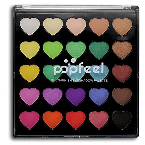 Profissional Cosmetic Matte Cream Makeup Palette Shimmer Set 25 Colors Eyeshadow Pallete Glitter Paleta De Sombra B (Olive Cream High Pigment 1)