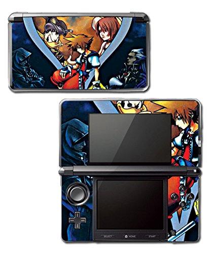 Kingdom Hearts Birth by Sleep 358/2 Sora Mickey Video Game Vinyl Decal Skin Sticker Cover for Original Nintendo 3DS System