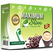 Premium ORGANIC Coffee BOOSTS your Metabolism DETOXES your Body & CONTROLS your Appetite. EFFECTIVE WEIGHT LOSS FORMULA has Original Green Coffee & Natural Herbal Extracts (Laxative Free), 12