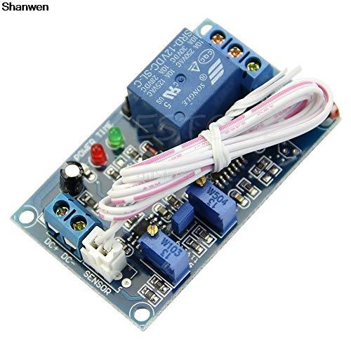(SMALL-CHIPINC - 12V Light LED Detect Sensor Poresistor Plus Relay Module with Timmer Adjust)