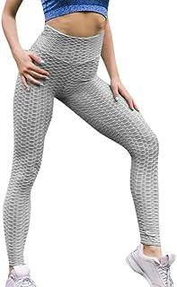 DODUMI Femmes Taille Haute Yoga Fold Cross Strap Legging Running Pantalon De Sport Pantalon