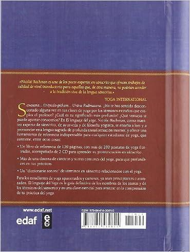 Lenguaje del yoga, El: NICOLAI BACHMAN: 9788441430815 ...