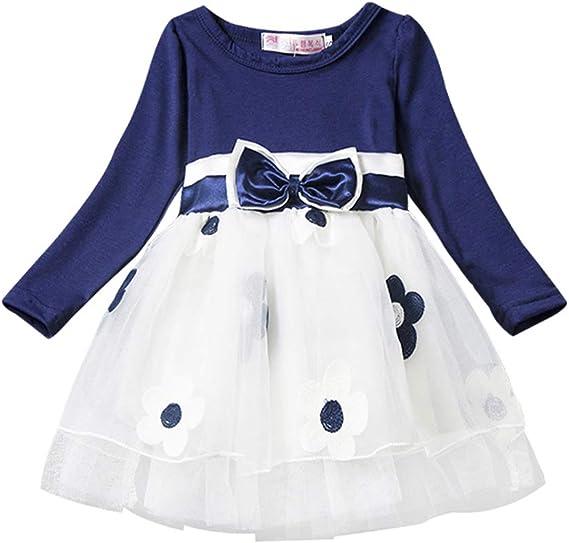 Vestido Tutú 6M - 4T para Bebé Malla Vestidos para Niñas Princesa ...