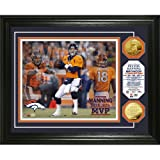 Highland Mint PHOTO6453K Peyton Manning 2013 NFL MVP Gold Coin Photo Mint