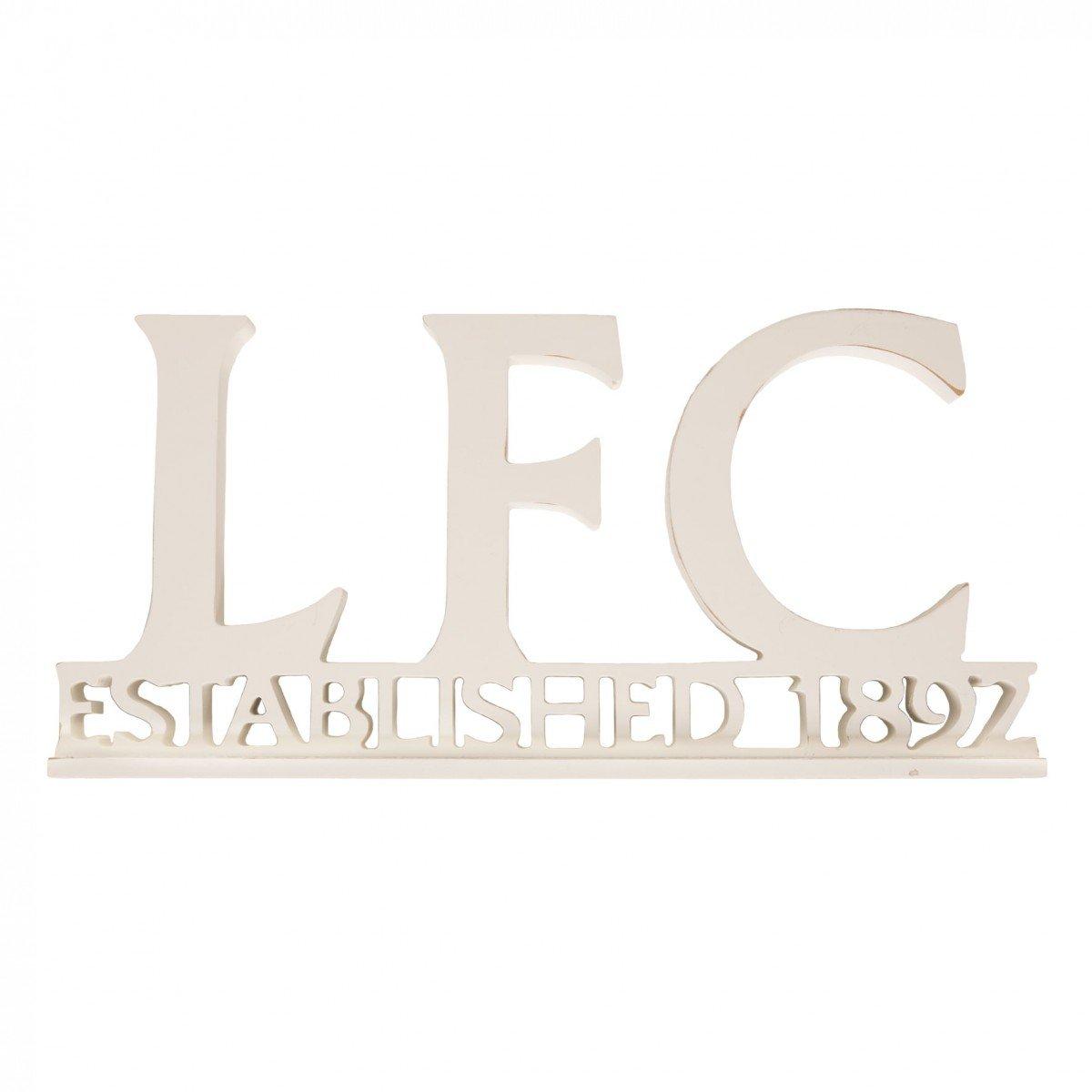 FC Liverpool LFC Schriftzug aus Holz in 40 cm x 18 cm Liverpool F.C. A7198