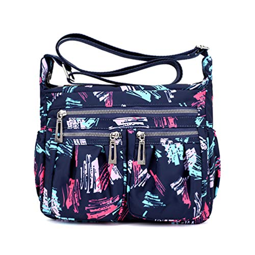 Nawoshow Floral Multi Pocket Crossbody Shoulder product image