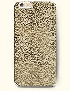 Light Yellow And Black Leopard Pattern - Animal Print - Phone Cover for Apple iPhone 6 Plus ( 5.5 inches ) - SevenArc ... by supermalls