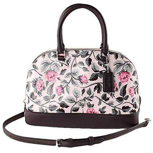 F24547 SLEEPING COACH MINI SIERRA ROSE WITH PRINT MULTI SILVER SATCHEL qa7f7w0