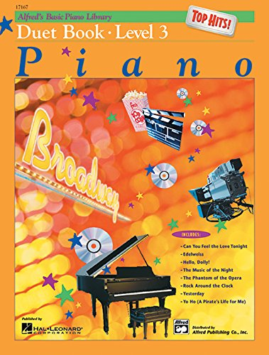 Basic Piano Duet Book (Alfred's Basic Piano Course: Top Hits! Duet Book, Level 3 (Alfred's Basic Piano Library))