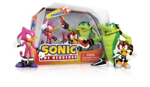 Sonic Box Set: Team Chaotix Action Figure by Sonic: Amazon ...