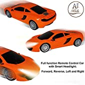 ANJ Kids Premium 1:20 Remote Control Car for Boys and Girls | Full RC Car Function with Smart Headlights | Rechargeable Batteries with Charger | Perfect RC Car for Kids