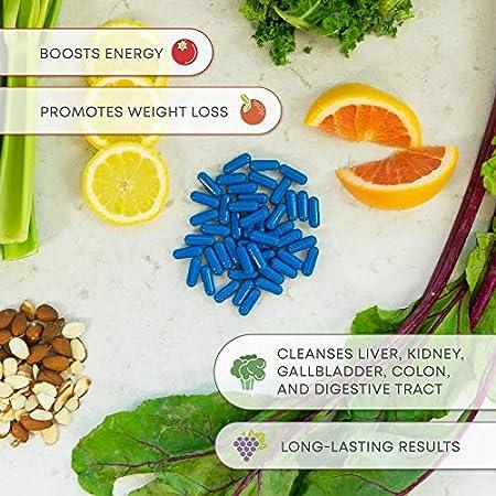Amazon.com: Detox, suplemento dietético digestivo para la ...