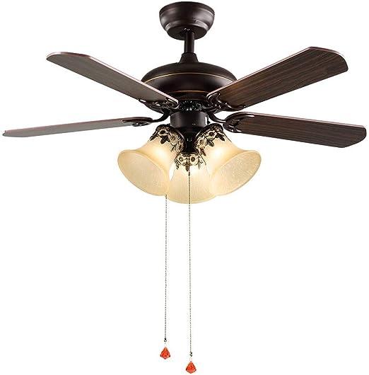 Ventilador techo Con Luz con Interruptor/Iluminación Interior ...