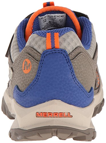 Merrell CAPRA BOLT LOW A/C - Zapatillas de senderismo Niños Gunsmoke/Orange