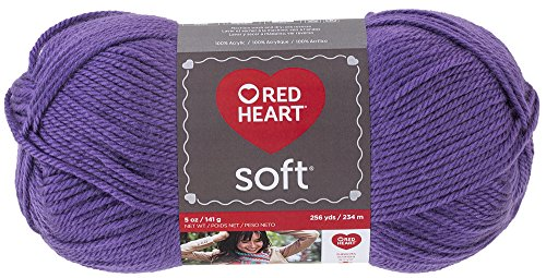 RED HEART Soft Yarn, Lavender