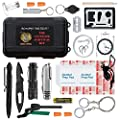 Ultimate 43-in-1 Emergency Survival Kit | Outdoor Multi-Tools for Camping, Hiking, Hunting & Fishing | First Aid Supplies | All Inclusive Survival Gear with Box for Campers & Preppers from #1 BEST