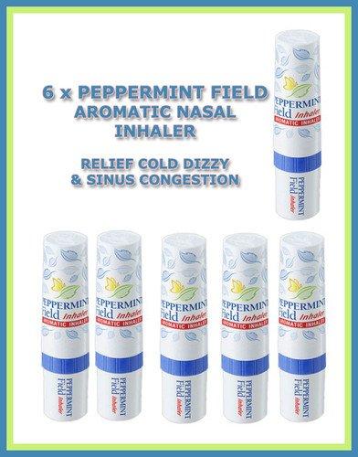al Inhaler Pack of 6 (Aromatic Mint)